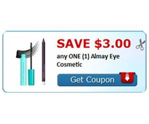Save $3.00 any ONE (1) Almay Eye Cosmetic