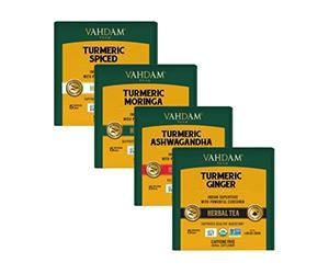 Free Turmeric Herbal Tea From Vahdam Teas