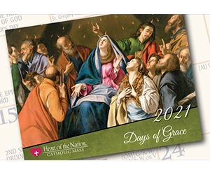 Free 2021 Catholic Art Wall Calendar