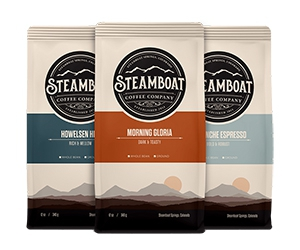 Free Coffee Bag Sample From Steamboat
