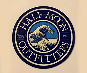 Free Half-Moon Outfitters Sticker