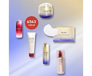 Win a 6-piece lifting and firming Vital Perfection gift from Shiseido