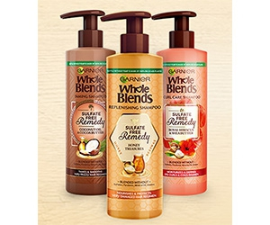 Win New Garnier Whole Blends Sulfate Free Remedy Shampoo And Conditioner