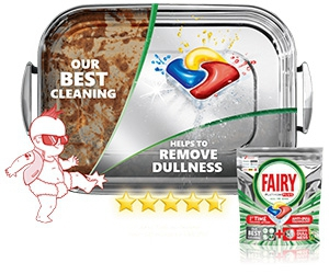 Free Fairy Dishwasher Tablets Sample
