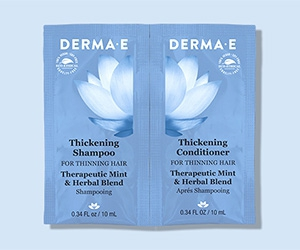 Free Thickening Shampoo And Conditioner From Derma E
