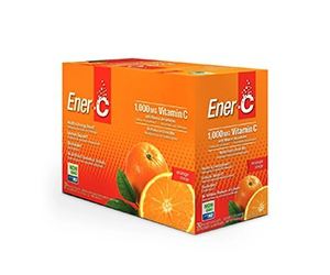 Free Ener-C Orange Multivitamin Drink Mix Box