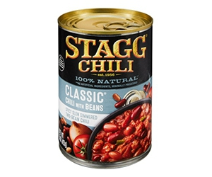 Free Stagg Chili With Beans Samples