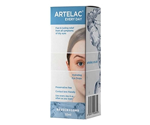 Free Artelac Every Day Eye Drops Sample