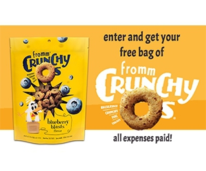 Win A Year Supply Of Crunchy O's Dog Food And Treats