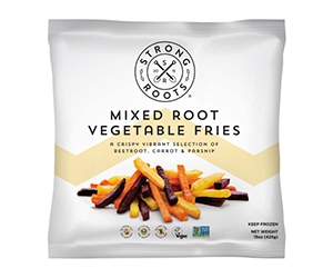 Free Mixed Root Vegetable Fries From Strong Roots