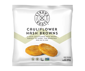 Free Cauliflower Hash Browns From Strong Roots