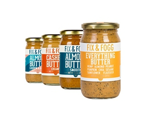 Free Nut Butter From Fix & Fogg