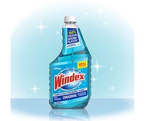 Free Windex Cleaner Sample
