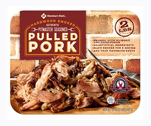 Free Seasoned Pulled Pork & Chicken From Member's Mark