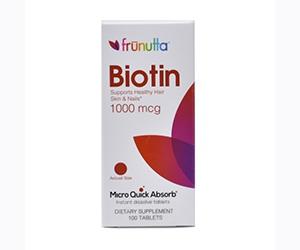 Free Biotin Tablets From Frunutta