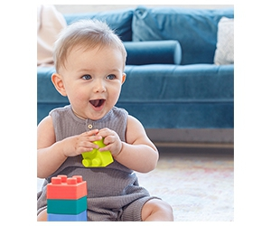 Free Super Soft Building Blocks From Infantino