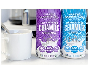 Free Organic Chia Milk From Mamma Chia