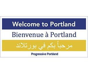Free Welcome To Portland Sticker