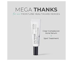 Free Clear Complexion Acne Serum + Spot Treatment
