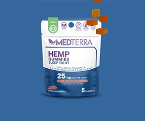 Free Sleep Tight And Keep Calm Gummies Packs From Medterra