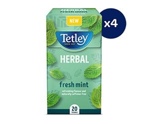 Free Tetley Herbal Or Good Earth Tea