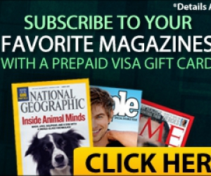 Free Subscription to Your Favorite Magazines