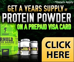 Free Years Supply of Protein Powder