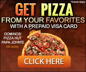 Free Pizza Gift Card From Your Favorites