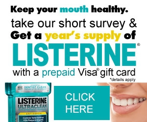 Free Year's Supply of Listerine