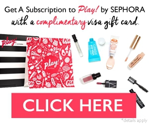 Free Subscription to Play! by Sephora