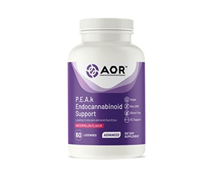 Free P.E.A.k Endocannabinoid Support Supplement From AOR