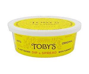 Free Plant Based Dip And Spread From Toby's