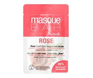Free Rose Sheet Mask From Masque Bar Naturals