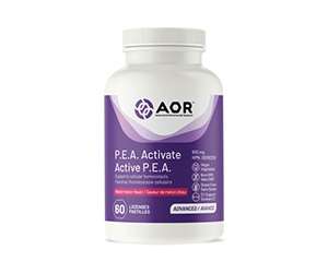 Free P.E.A. Activate Supplement From AOR