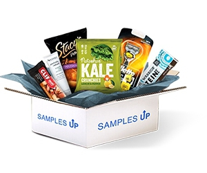 Free Snacks, Skincare Products, Razors, Sweets And More From Samples Up