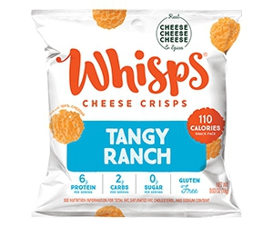 Free Cheese Crisps From Whisps
