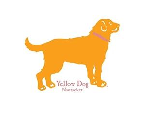 Free Yellow Dog Nantucket Sticker