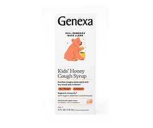 Free Kids' Honey Cough Syrup From Genexa