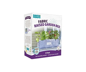 Free Fabric Raised Garden Bed From Back To The Roots