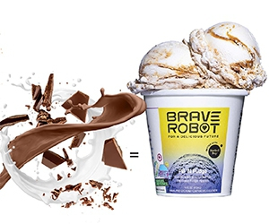 Free Ice Cream Pint From Brave Robot
