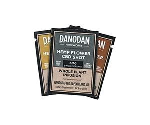 Free Danodan Hemp Flower CBD Shots Sample Pack