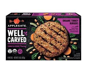 Free Well Carved Organic Turkey Patties From Applegate