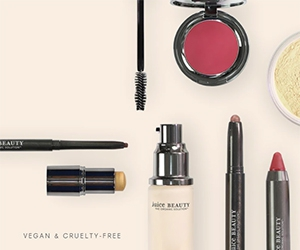 Free Clearing Serum, Foundation, Mascara, And Moisturizer From Juice Beauty