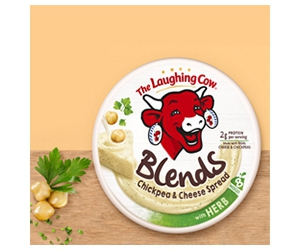 Free Blends Spreads With Hemp And Paprika From The Laughing Cow