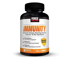 Free Immunity Boosting Supplement From Force Factor
