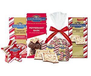 Free Ghirardelli Peppermint Samples