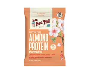 Free Almond Protein Powder From Bob's Red Mill USA