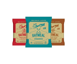 Free Instant Oatmeal From Bob's Red Mill USA