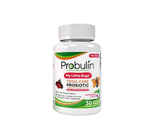 Free Probulin My Little Bugs Total Care Kids Probiotic
