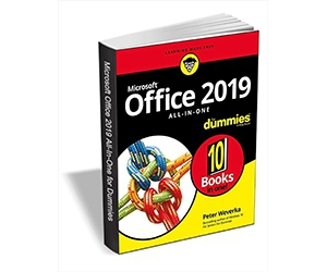 """Free eBook: """"Office 2019 All-in-One For Dummies ($24.00 Value) FREE for a Limited Time"""""""